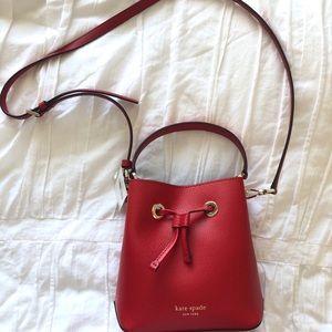 NWT: Kate Spade Eva Small Bucket Bag